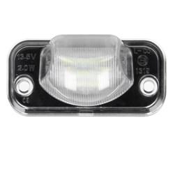 Kennzeichenbeleuchtung mit E-Prüfzeichen VW