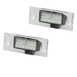 LED-Kennzeichenbeleuchtung mit E-Prüfzeichen Audi