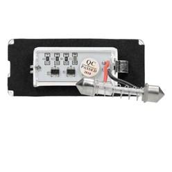 Kennzeichenbeleuchtung Mini Cooper mit E-Prüfzeichen