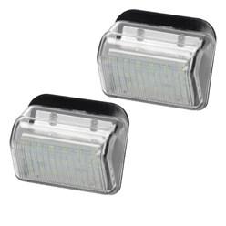 Kennzeichenbeleuchtung mit E-Prüfzeichen Mazda