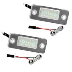 Kennzeichenbeleuchtung mit E-Prüfzeichen Audi