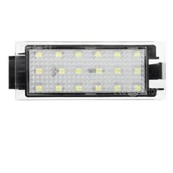2x LED éclairage plaque d'immatriculation Dacia Logan Renault Megane II Twingo