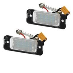LED-Kennzeichenbeleuchtung mit E-Prüfzeichen Mercedes-Benz