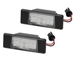 LED-Kennzeichenbeleuchtung mit E-Prüfzeichen Nissan