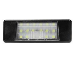 Feux éclairage de plaque immatriculation à LED pour Nissan Qashqai Primera Juke