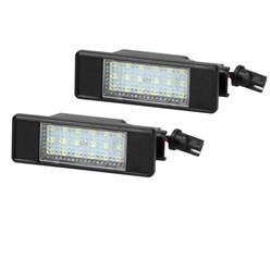 2x LED éclairage de plaque d'immatriculation pour Mercedes Viano Vito Sprinter