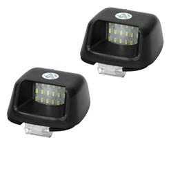 Kennzeichenbeleuchtung mit E-Prüfzeichen Nissan