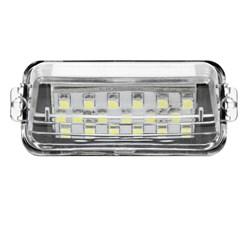 2 x LED-Kennzeichenbeleuchtung mit E-Prüfzeichen Toyota