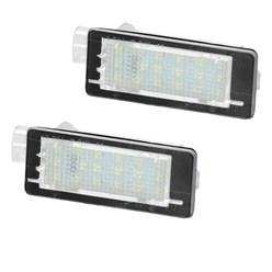 2 x LED-Kennzeichenbeleuchtung mit E-Prüfzeichen Renault