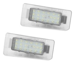 2 x LED-Kennzeichenbeleuchtung mit E-Prüfzeichen Hyundai Kia