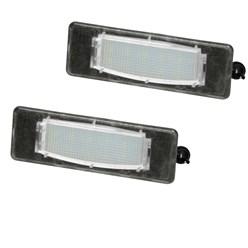 2 x LED-Kennzeichenbeleuchtung Hyundai Kia mit E-Prüfzeichen