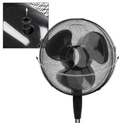 Standventilator 45 W 16 Schwarz 3 Stufen / CE / GS