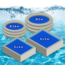 Solarfolie Pool 400 my Variation