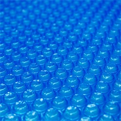 Pool Solarfolie blau, Ø 5 m, 400µm, aus PE-Folie mit Luftkammern