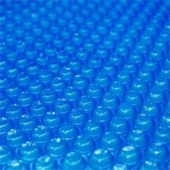 Pool Solarfolie blau, 8x5 m, 400µm, aus PE-Folie mit Luftkammern