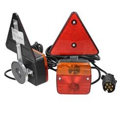 Rückleuchten Set für Anhänger mit Magneten 12V mit E11 Prüfzeichen