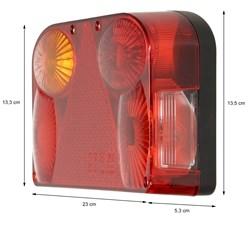 Anhänger Beleuchtungssatz Rückleuchten Rücklichter Heckleuchten 13 polig Stecker