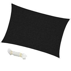 Sonnensegel Quadrat 3,6 x 3,6 m Creme
