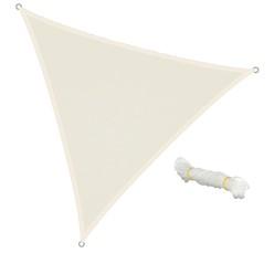 Sonnensegel Dreieck 3,6 x 3,6 x 3,6m Creme