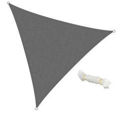 Sonnensegel Dreieck 3,6x3,6x3,6m Grau