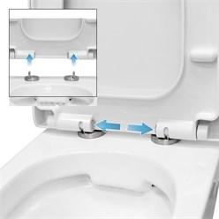 Spülrandloses Wand Hänge WC kurz