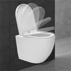 Wand Hänge WC lang