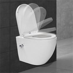 Wand Hänge WC lang Bidet Funktion