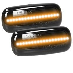 Seitenblinker LED Audi Smoke E9