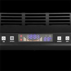 Wandgebläse 60 W Schwarz 220-240 V 50 / 60 Hz