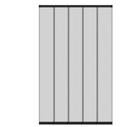 Insektenschutz Lamellenvorhang, 125x240 cm, 5-teiliger Vorhang