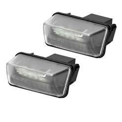 Kennzeichenbeleuchtung e24 mit E-Prüfzeichen Citroen Peugeot