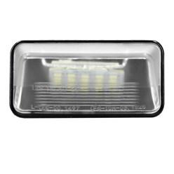 2 x LED-Kennzeichenbeleuchtung mit E-Prüfzeichen Citroen Peugeot