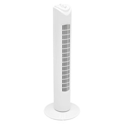 "Säulenventilator 45W 31"" Weiß 3 Stf / CE / GS"