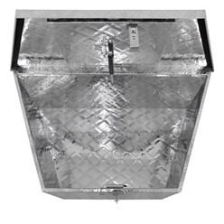 Transportkiste Aluminium 82 cm x 50 cm x 47 cm