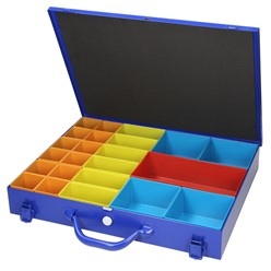 Sortimentskoffer Sortimentskasten+23 Kunststofff.
