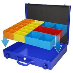 Sortimentskoffer Sortimentskasten + 23 Kunststoff