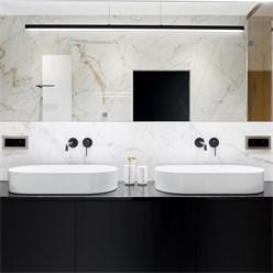 Waschbecken Ovalform 605x380x125 mm, Weiß, aus Keramik