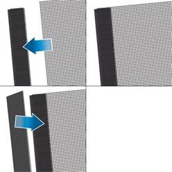 Fliegengitter Klettband Weiß 5 m