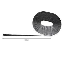 Fliegengitter Klettband Schwarz 5 m