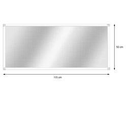 Alu Lichtschachtabdeckung 50 x 115 cm