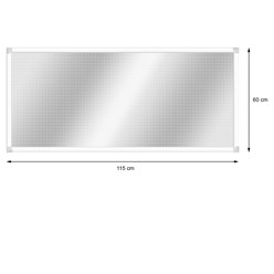Alu Lichtschachtabdeckung 60 x 115 cm