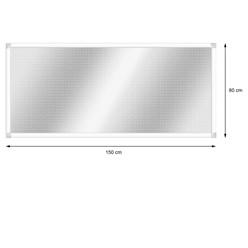 Alu Lichtschachtabdeckung 80 x 150 cm