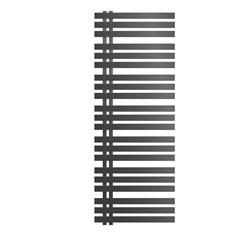 Radiateur chauffage bain sèche-serviettes Iron M Design anthracite 600 x 1600 mm