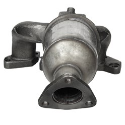 Katalysator 360 mm mit Montagesatz Opel