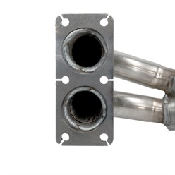 Katalysator inkl. Montageteile 900mm Abgasanlage Opel Vectra