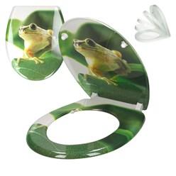 WC-Sitz mit Absenkautomatik Frosch