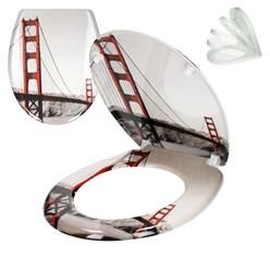 WC-Sitz mit Absenkautomatik Golden Gate