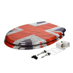 Toilettendeckel Flagge GB Softclose