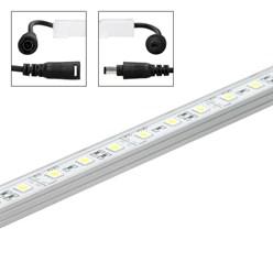 LED Unterbauleiste, 50 cm, Kaltweiß inkl. Netzteil