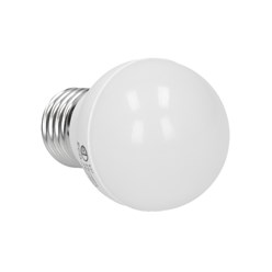 LED-Birne E27, Kaltweiß, 3W